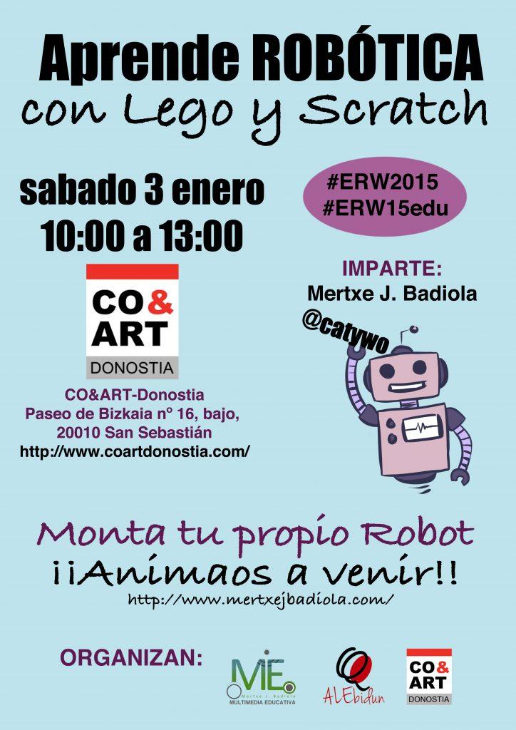 Aprende robótica con Lego y Scratch