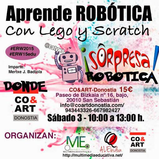 COART   APRENDE ROBOTICA CON LEGO Y SCRATCH