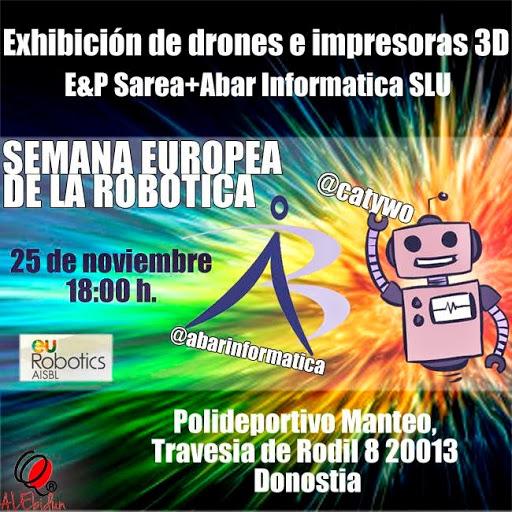 Ven, mira, vuela drones e imprime en 3D