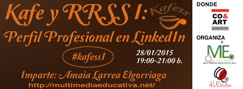 Kafe y Redes Sociales I