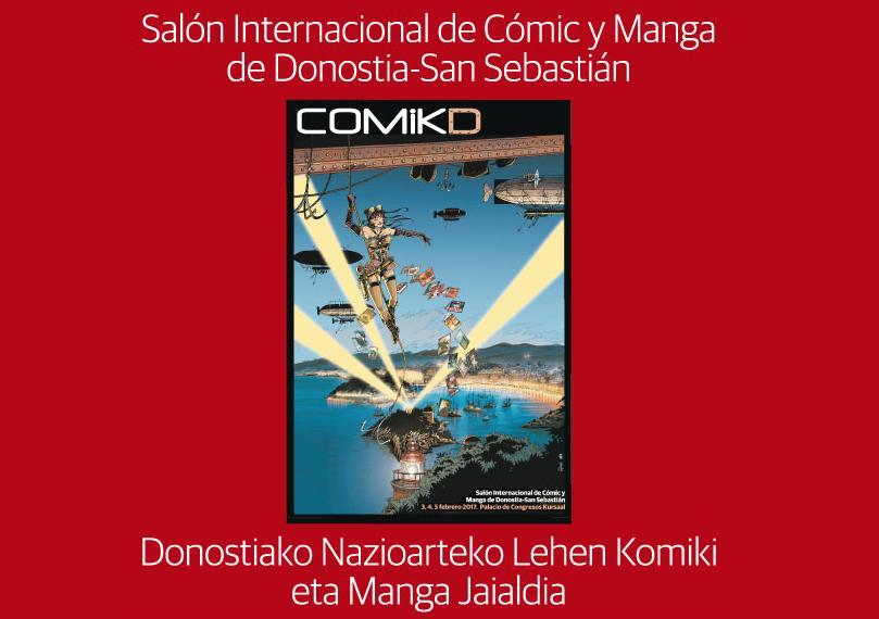 I Salón Internacional de Cómic y Manga Donostia: COMIKD